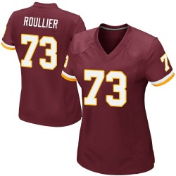 Nike Chase Roullier Washington Redskins Women's Game Burgundy Team Color Jersey